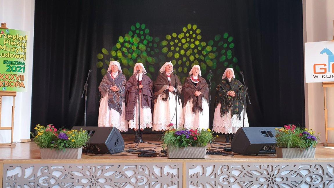 Sukces Żeńskiej Grupy Śpiewaczej Korczyna